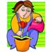 Gardening Gals interest group clip art